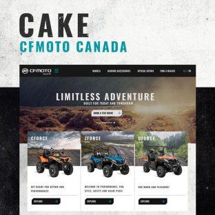 Dans les derniers mois, Cake a travaillé fort pour offrir un nouveau site Web à CFMOTO Canada. L'aboutissement de ce mandat n'est que le début d'une aventure remarquable, sans faire de jeux de mots poches.   🏁 www.cfmoto.ca 🏁