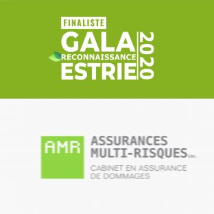 Félicitations à nos trois clients finalistes au Gala Reconnaissance Estrie 2020! 👏 AMR Assurances Multi-Risques Groupe Grandmont Musée de la nature et des sciences de Sherbrooke