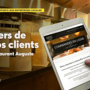 Félicitation au Restaurant Auguste qui a su se réinventer en offrant des repas à emporter adaptés afin de vivre l'expérience d'une cuisine raffinée dans le confort de son foyer. Pour un réconfort gourmet à apporter à la maison, cliquez ici 👉 https://www.auguste-restaurant.com/menu-pour-emporter/